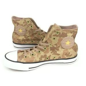 Converse Chuck Taylor All Star Camo Shoes Brown